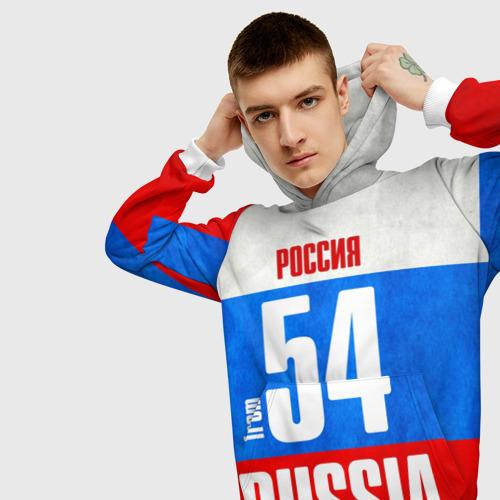 Мужская толстовка 3D  Фото 01, Russia (from 54)