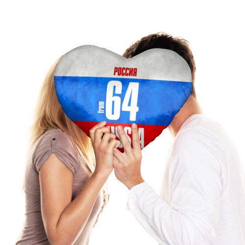 Подушка 3D сердце  Фото 03, Russia (from 64)