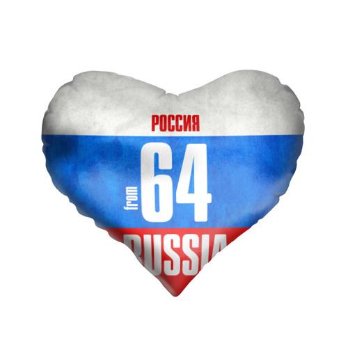 Подушка 3D сердце  Фото 01, Russia (from 64)