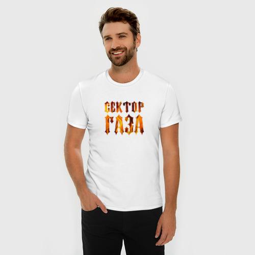 Мужская футболка премиум  Фото 03, Сектор газа