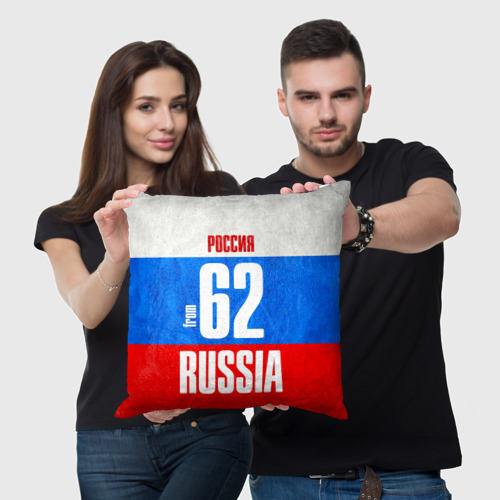 Подушка 3D Russia (from 62)