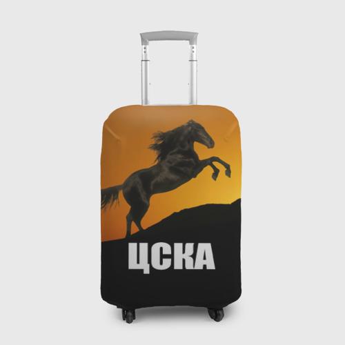 Чехол для чемодана 3D ЦСКА gold