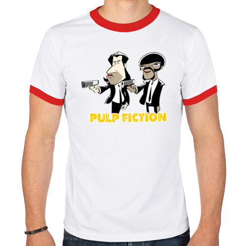 Мужская футболка рингер  Фото 01, Pulp Fiction