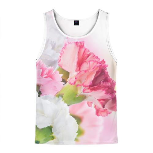 Белые и розовые цветы