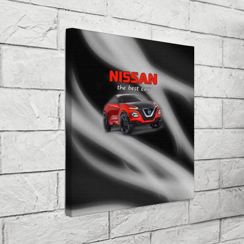 Холст квадратный  Фото 03, Nissan - лучшая машина