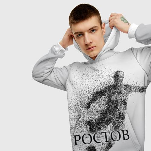 Мужская толстовка 3D  Фото 01, ФК Ростов
