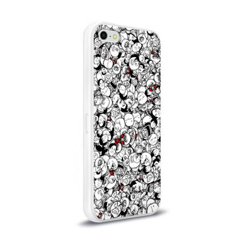 Чехол для Apple iPhone 5/5S силиконовый глянцевый  Фото 02, Мемы