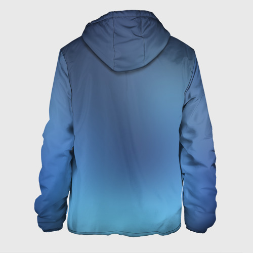 Мужская куртка 3D  Фото 02, Blue
