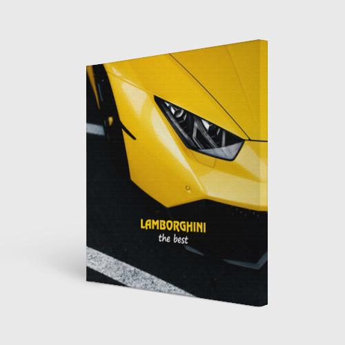 Холст квадратный  Фото 01, Lamborghini the best