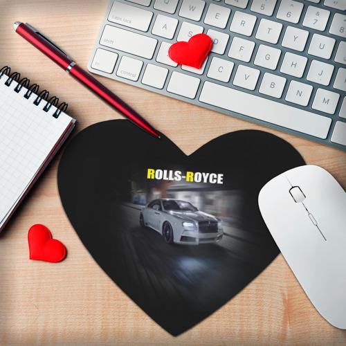 Коврик для мыши сердце  Фото 02, Rolls-Royce