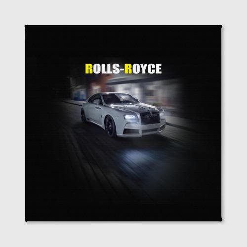 Холст квадратный  Фото 02, Rolls-Royce