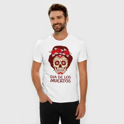 Мужская футболка премиум  Фото 03, День мертвецов