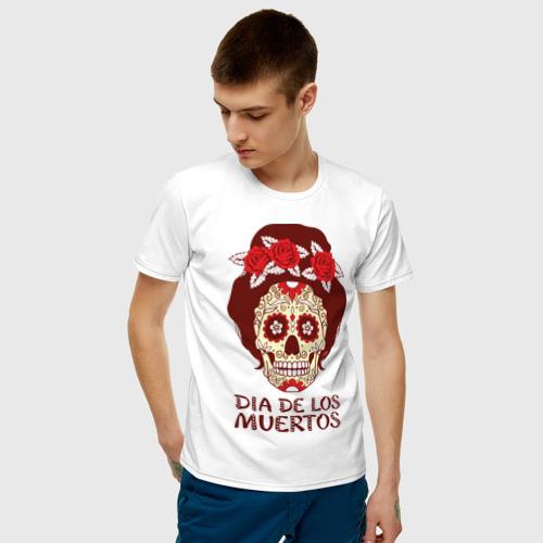 Мужская футболка хлопок День мертвецов Фото 01
