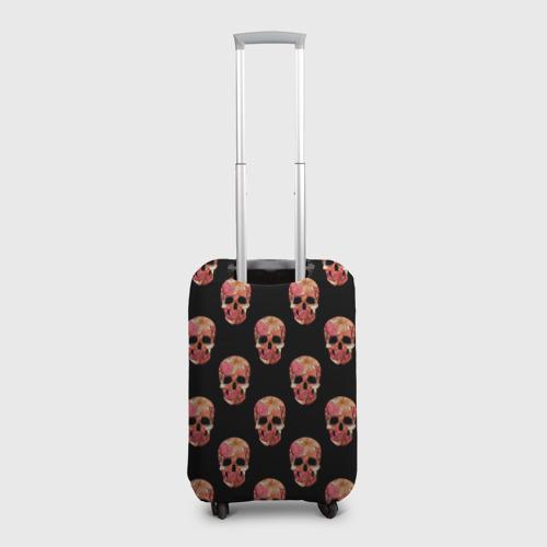 Чехол для чемодана 3D  Фото 02, Мексиканский череп