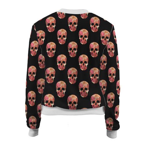 Женский бомбер 3D  Фото 02, Мексиканский череп