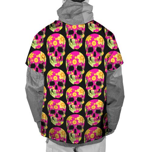 Накидка на куртку 3D  Фото 02, Мексиканский череп