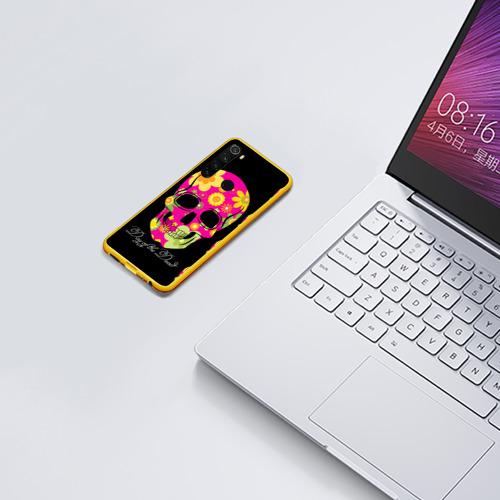 Чехол для Xiaomi Redmi Note 8 Мексиканский череп Фото 01