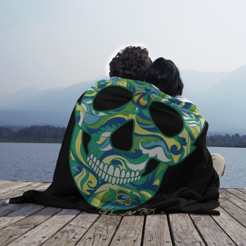 Плед 3D  Фото 02, Мексиканский череп