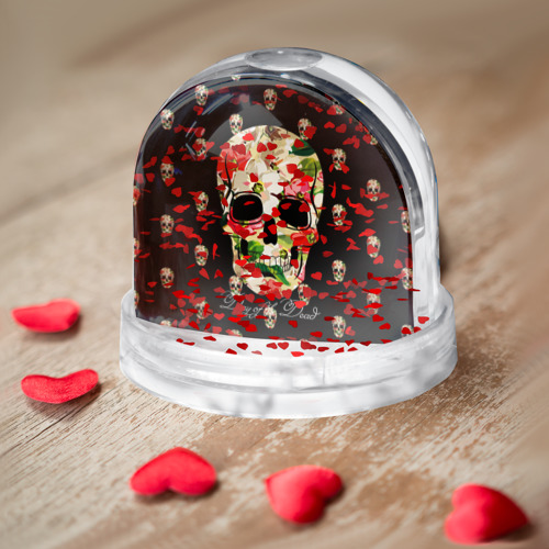 Водяной шар  Фото 04, Мексиканский череп
