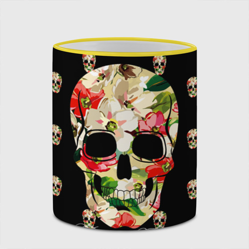 Кружка с полной запечаткой  Фото 03, Мексиканский череп