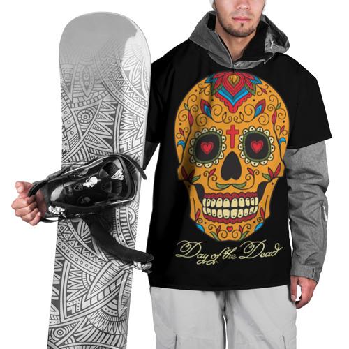 Накидка на куртку 3D  Фото 01, Мексиканский череп