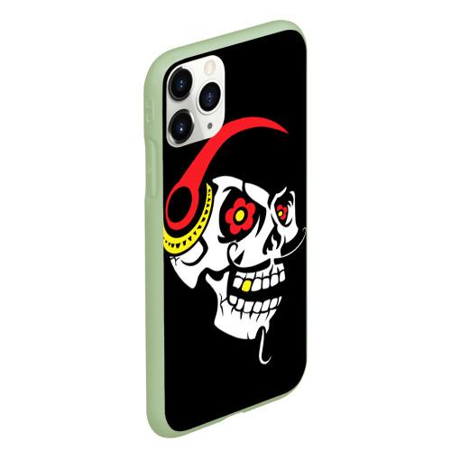 Чехол для iPhone 11 Pro Max матовый Мексиканский череп Фото 01