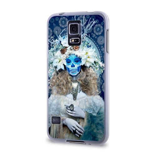 Чехол для Samsung Galaxy S5 силиконовый  Фото 03, День мертвецов