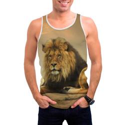 Величиственый лев