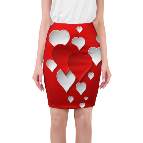 Юбка 3D Сердца