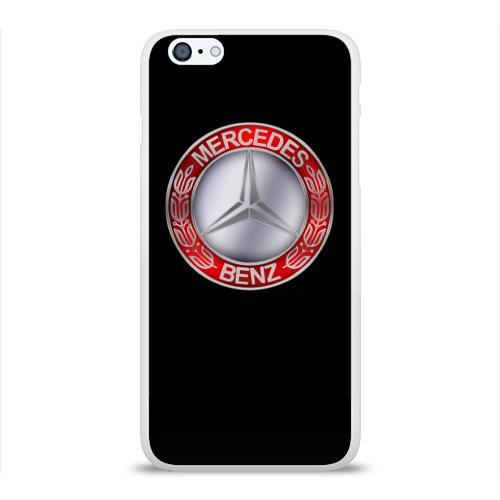 Чехол для Apple iPhone 6Plus/6SPlus силиконовый глянцевый MERSEDES BENZ Фото 01