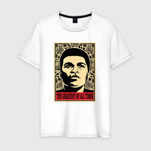 Мужская футболка хлопок Muhammad Ali