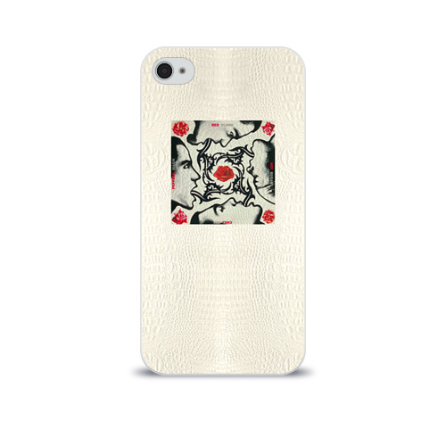 Чехол для Apple iPhone 4/4S soft-touch  Фото 01, Red Hot Chili Peppers 8