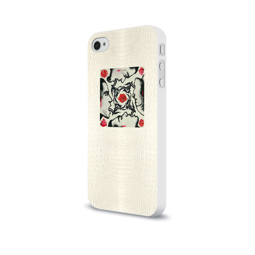 Чехол для Apple iPhone 4/4S soft-touch  Фото 03, Red Hot Chili Peppers 8