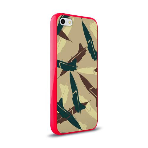 Чехол для Apple iPhone 5/5S силиконовый глянцевый ВВС Фото 01