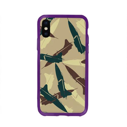 Чехол для Apple iPhone X силиконовый глянцевый ВВС Фото 01