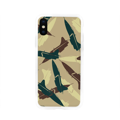 Чехол для Apple iPhone X силиконовый глянцевый  Фото 01, ВВС