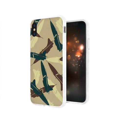 Чехол для Apple iPhone X силиконовый глянцевый  Фото 03, ВВС