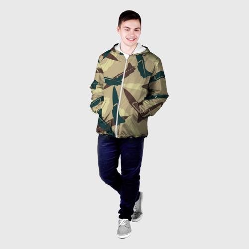 Мужская куртка 3D ВВС Фото 01
