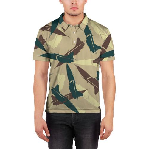 Мужская рубашка поло 3D ВВС Фото 01