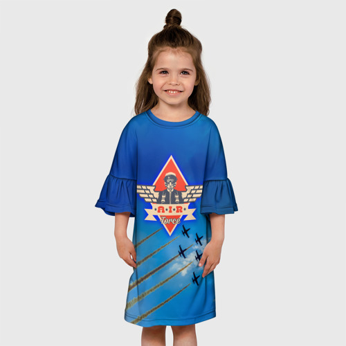 Детское платье 3D  Фото 01, ВВС