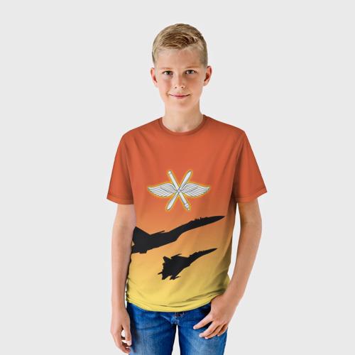 Детская футболка 3D  Фото 01, ВВС