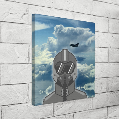 Холст квадратный  Фото 03, ВВС