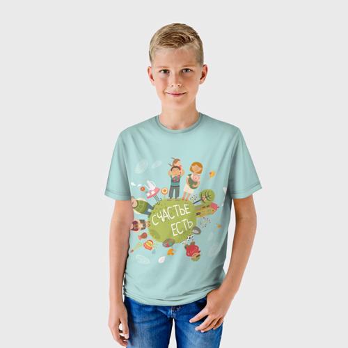Детская футболка 3D  Фото 01, Family Look