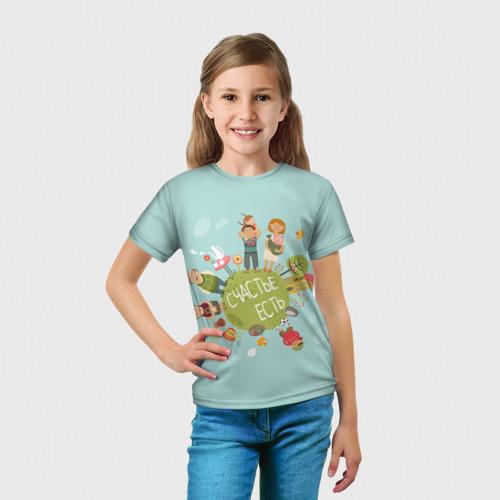 Детская футболка 3D  Фото 03, Family Look