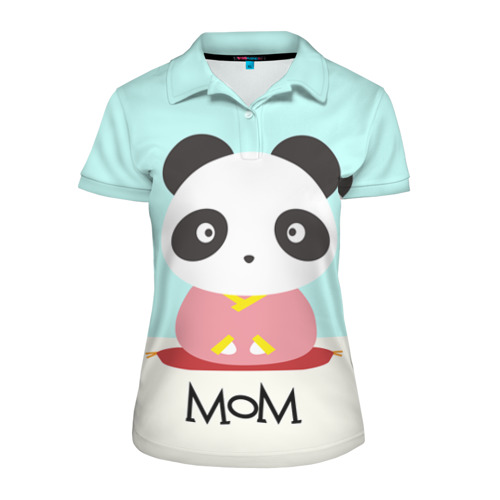 Женская рубашка поло 3D Family Look