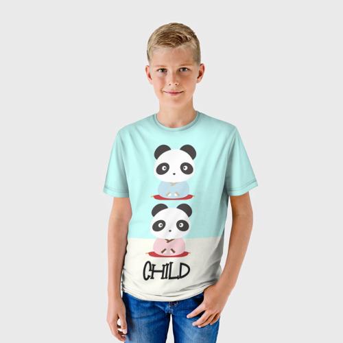 Детская футболка 3D Family Look