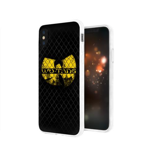 Чехол для Apple iPhone X силиконовый глянцевый  Фото 03, Wu-Tang Clan