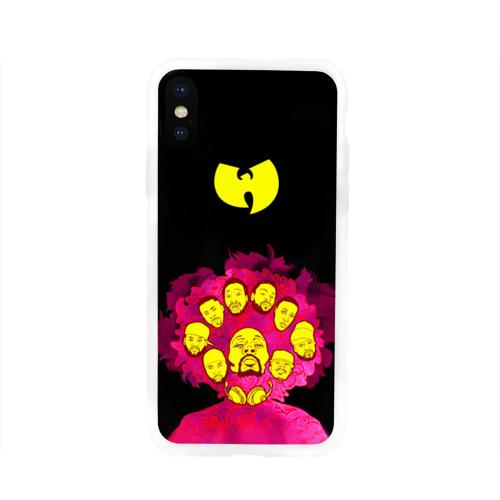 Чехол для Apple iPhone X силиконовый глянцевый  Фото 01, Wu-Tang Clan