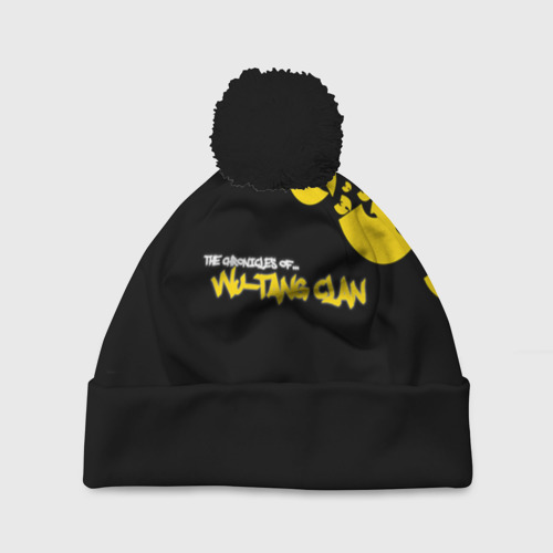 Шапка 3D c помпоном Wu-Tang clan