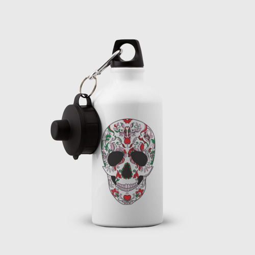 Бутылка спортивная  Фото 03, Мексиканский череп